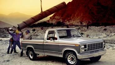 1980 Ford F-150 Ranger: Ford's diesel pickups debut with 6.9-liter V-8.