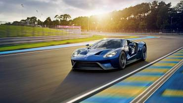 Ford GT amarillo cover (Custom)