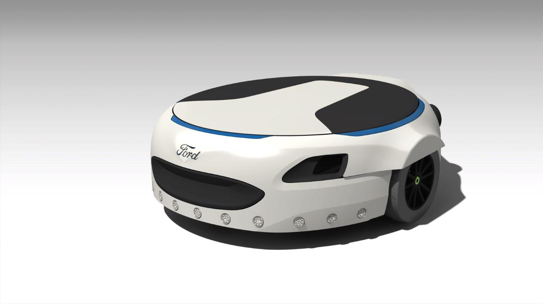 Carr-E: la plataforma rodante que te lleva a trabajar   Espacio Ford