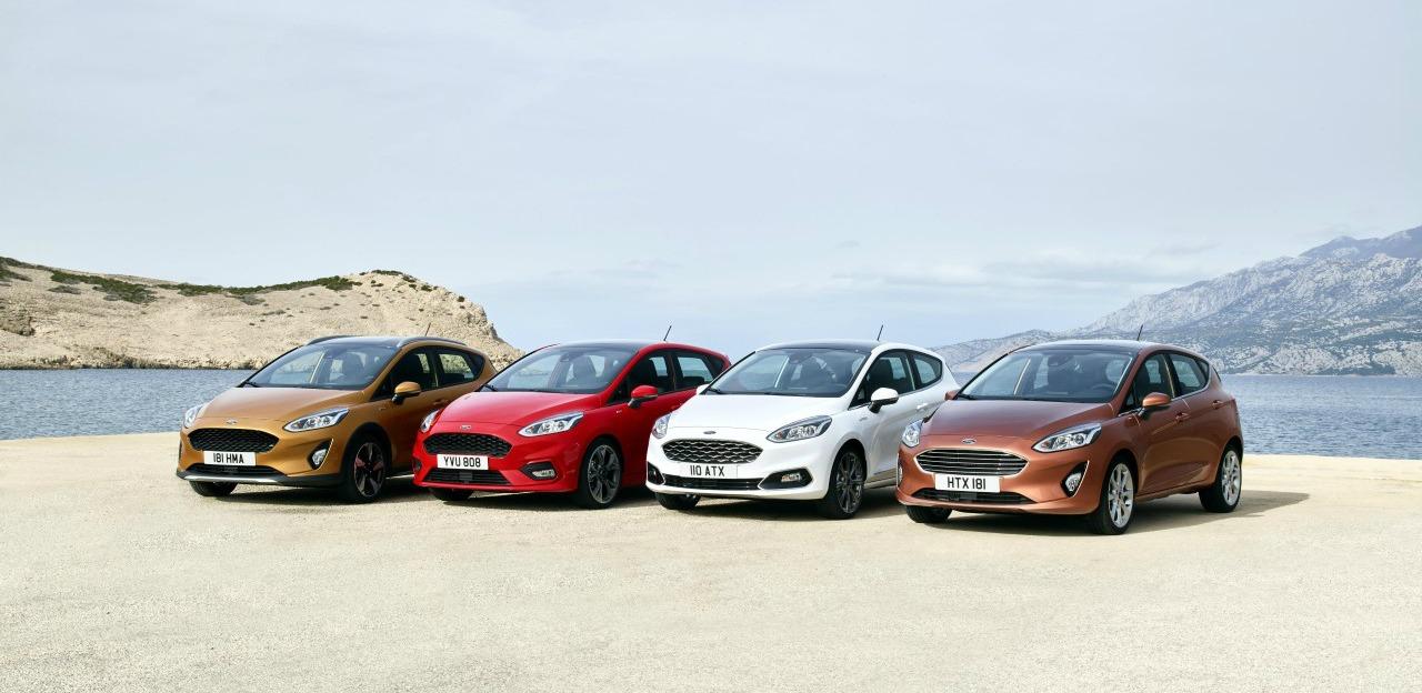 Las mejores imágenes del nuevo Ford Fiesta