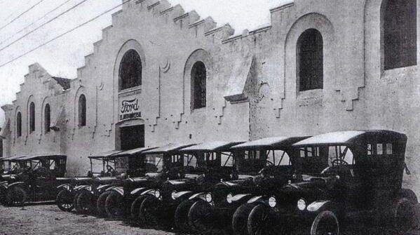 Fábrica Ford Motor Ibérica-Cádiz-1919