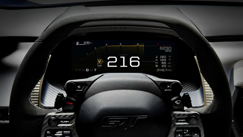 Consumos, cuadro de mandos… los últimos detalles del Ford GT [vídeo]