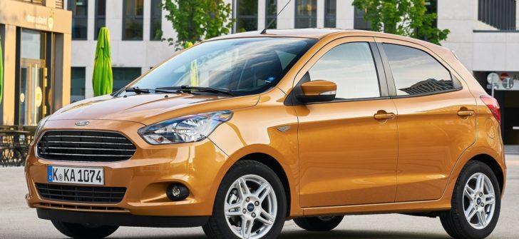 Ford Ka+ 2017_frontolateral