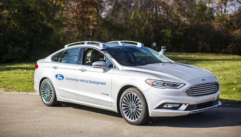 nuevo Ford autónomo