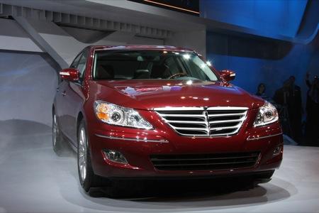Detroit NAIAS 2009 Hyundai Genesis