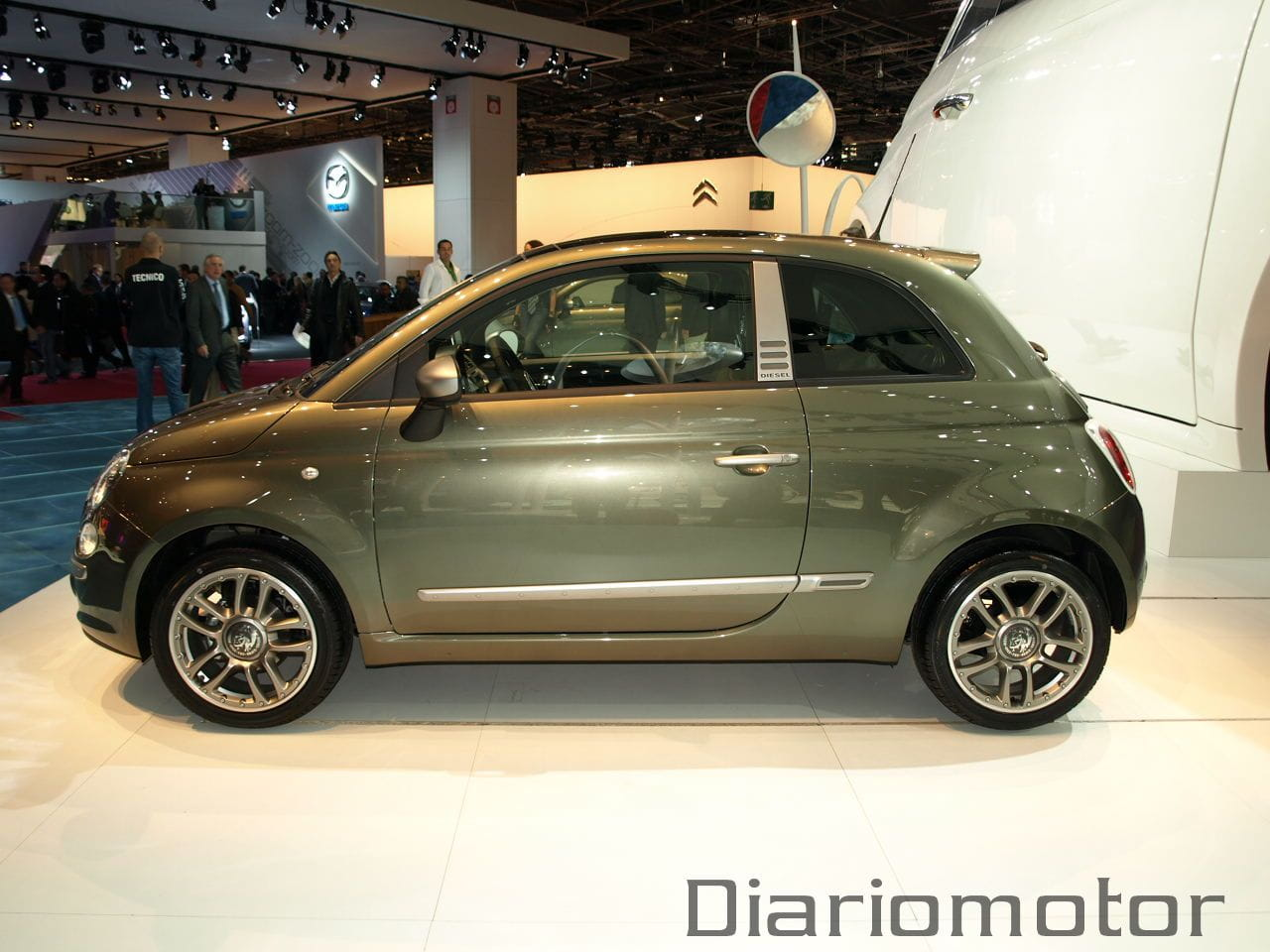fiat 500 diesel en par s 2008 foto 2 de 13. Black Bedroom Furniture Sets. Home Design Ideas