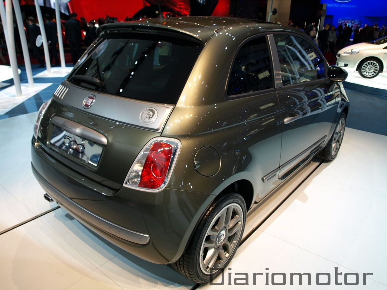 fiat 500 diesel en par s 2008 foto 10 de 13. Black Bedroom Furniture Sets. Home Design Ideas