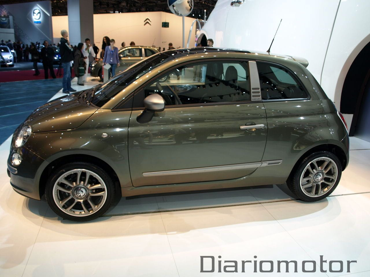 fiat 500 diesel en par s 2008 foto 13 de 13. Black Bedroom Furniture Sets. Home Design Ideas