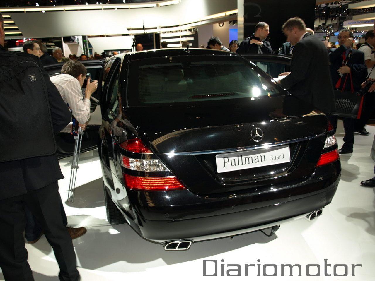 Mercedes s 600 pullman en par s 2008 foto 2 de 15 for Garage mercedes paris 13