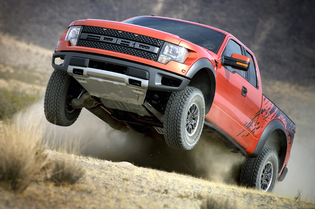Ford Raptor, la camioneta orgásmica...