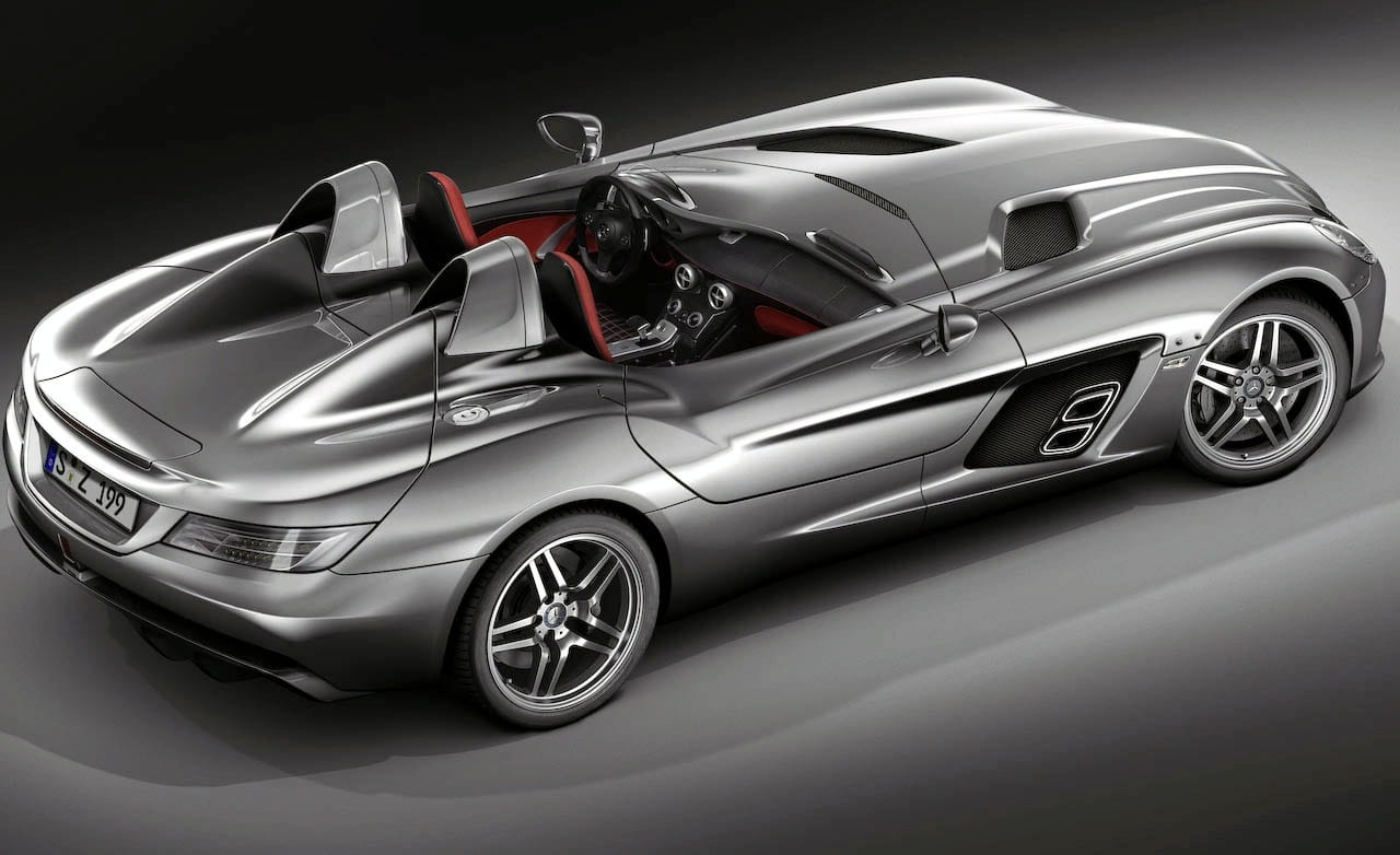 mercedes slr mclaren stirling moss edition foto 4 de 12. Black Bedroom Furniture Sets. Home Design Ideas