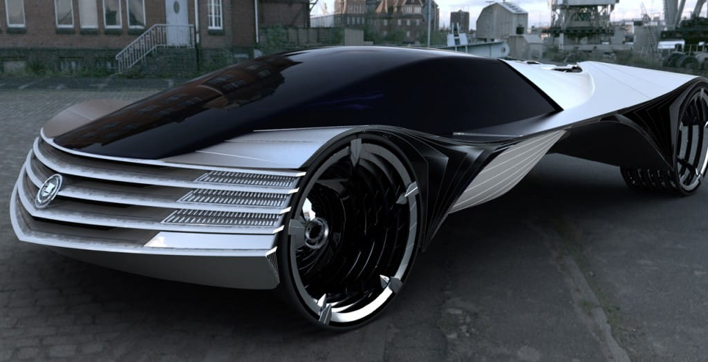 Cadillac World Thorium Fuel Concept coche car