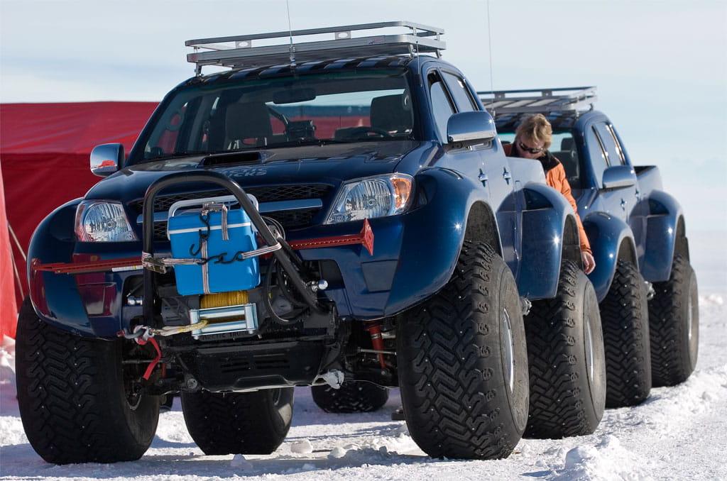 Toyota Hilux Tambi 233 N En El Polo Sur Diariomotor