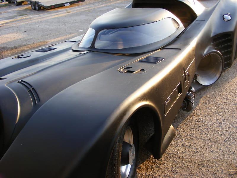Batmobile réplica del 1989 (ver imagen original)