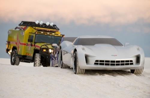 Los coches de Transformers 2, la película