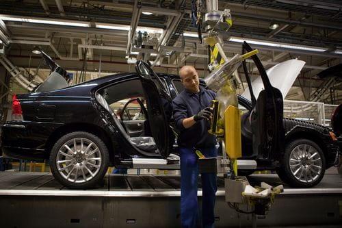 El último Volvo S60 sale de la cadena de producción