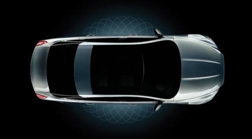 Jaguar XJ 2010 Teaser