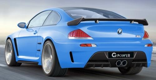 M6 G-Power Hurricane CS es el coupé BMW más rápido alcanzando 370 km/h