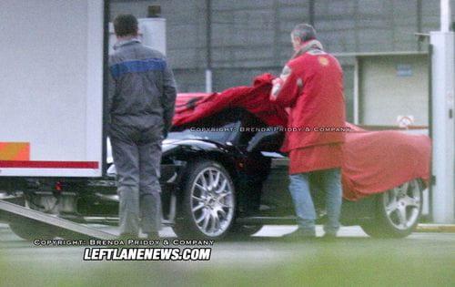 Ferrari F450, fotos espía y recreación
