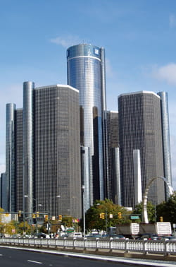 GM headquarters Detroit