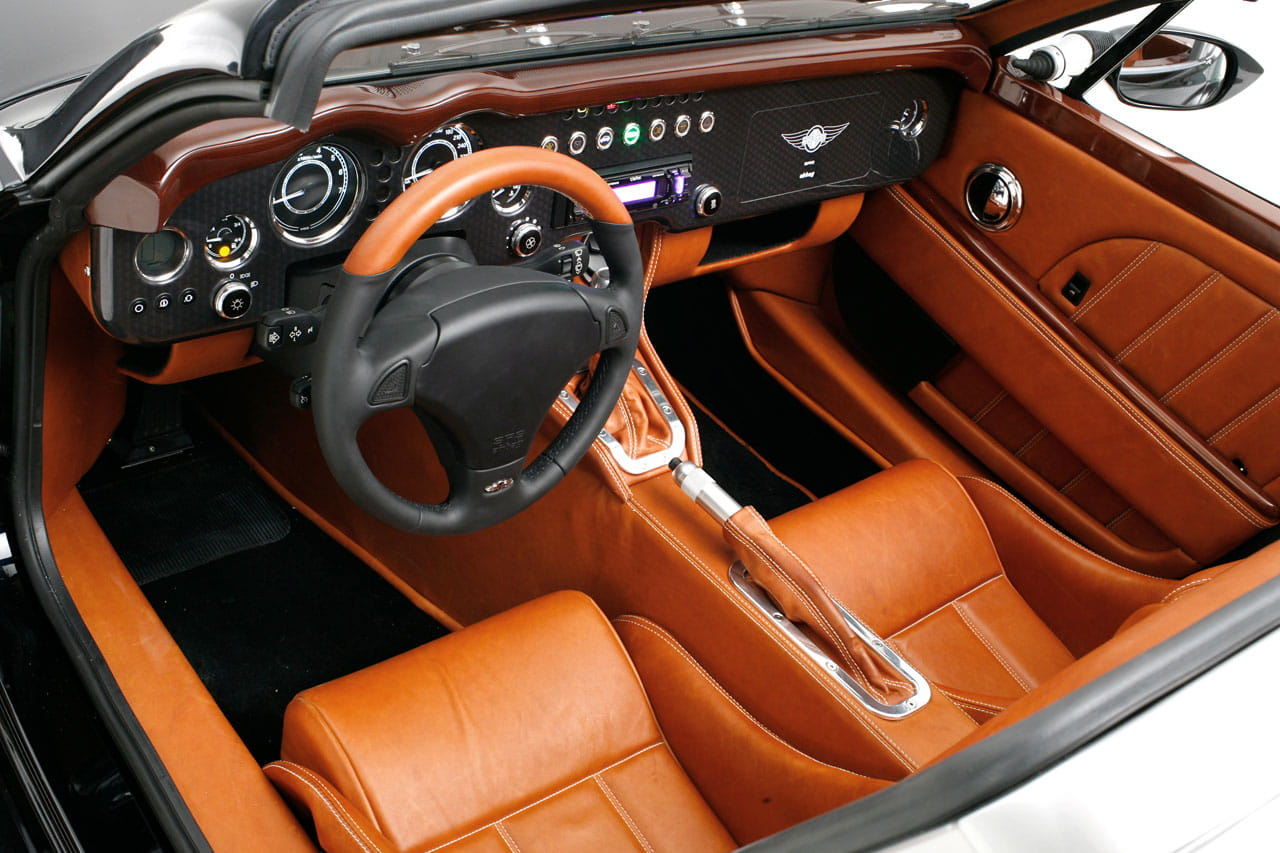 Morgan aero supersports foto 3 de 9 for Interior designs for cars