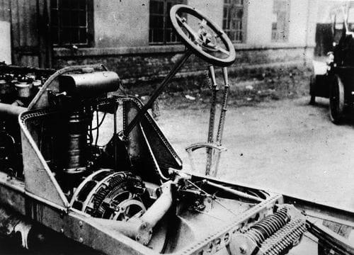 Lohner-Porsche Mixte Hybrid, el primer híbrido de la historia