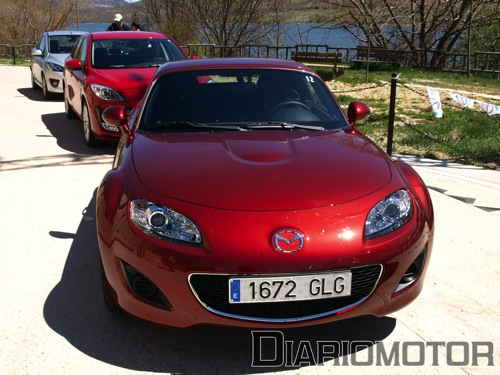 Presentación de la gama Mazda 2009, Mazda MX-5