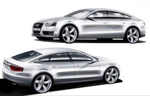 Audi A5 Sportback, nueva recreación precisa