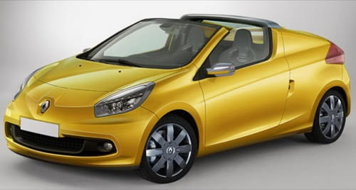 Recreación del Renault Twingo CC