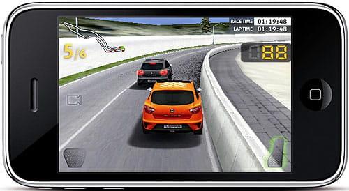 Seat Ibiza Cupra Race IPhone