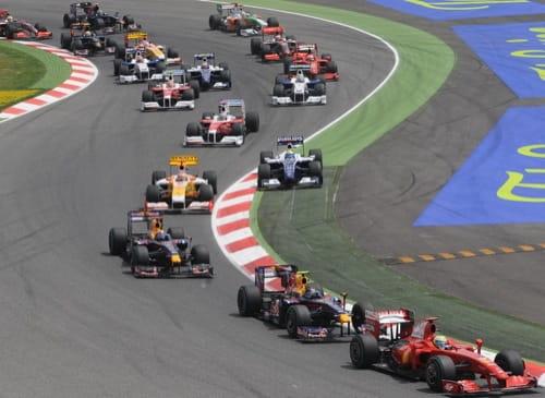 Posible estampida de la F1