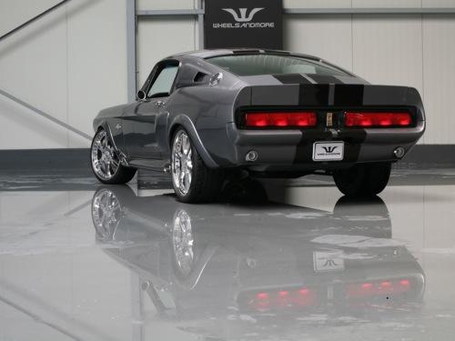 Wheelsandmore mete la pata el Mustang GT 500 Eleanor