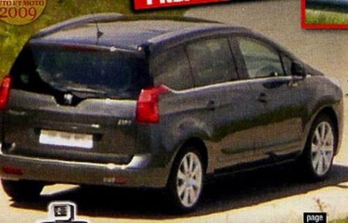 Peugeot 3009, fotos espía del monovolumen de siete plazas