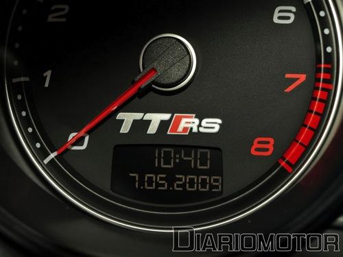 Audi TT-RS en el Salón de Barcelona