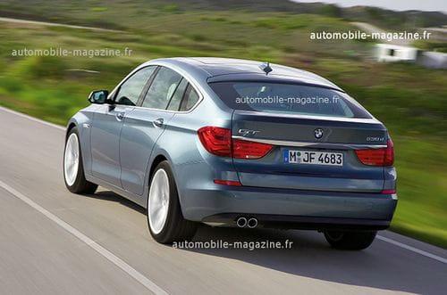 BMW Serie 5 Gran Turismo, fotos oficiales filtradas