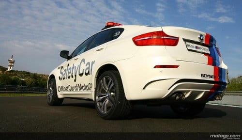 BMW X6 M Safety Car MotoGP