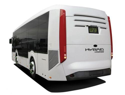 La EMT madrileña comienza las pruebas de un autobús híbrido