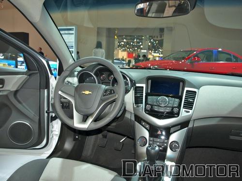 Impresiones en parado del Chevrolet Cruze