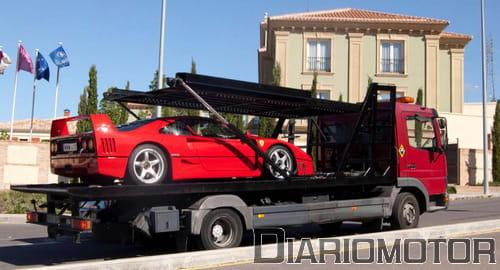 Concentración de Ferrari en Toledo