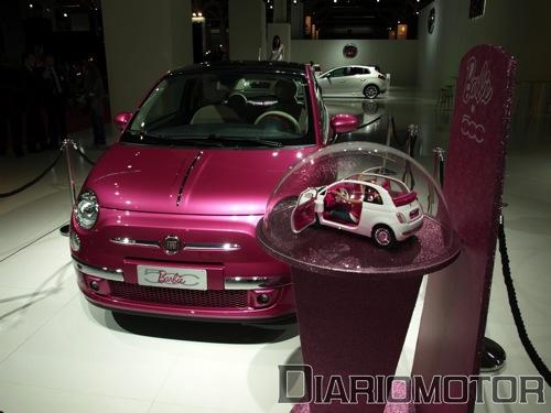 Fiat 500 Barbie en el Salón de Barcelona