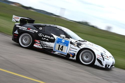 Los Lexus LF-A vuelven a participar en las 24 Horas de Nürburgring