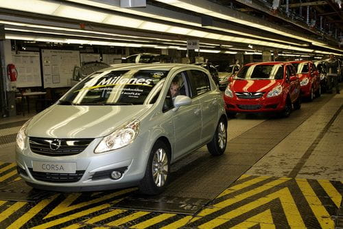 10 millones de Opel fabricados en Figueruelas