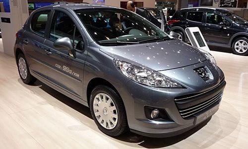 Peugeot 207, primeras imágenes del lavado de cara