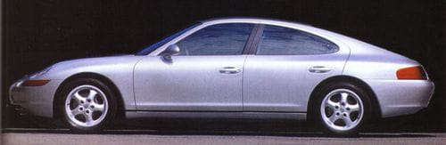 Porsche 989, una berlina deportiva que no llegó a nacer