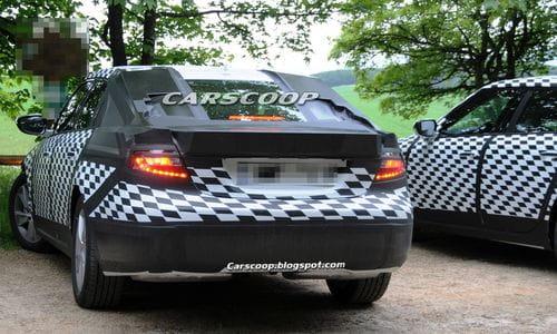 Fotos espía e información del futuro Saab 9-5