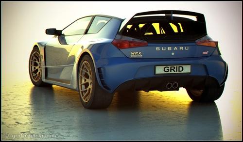 Subaru Impreza WRX-STI Hatch Concept Study, la visión de un coupé