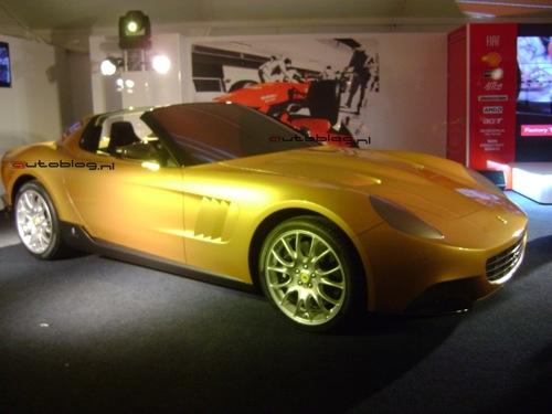 Golden Ferrari, la última originalidad de Pininfarina