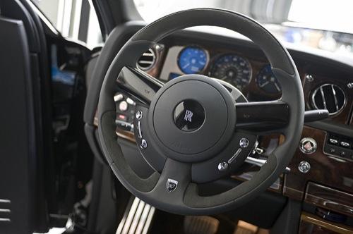 Agresividad y sobriedad en el Hamann Rolls-Royce Phantom