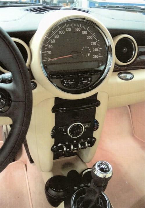 Fotos espía del Mini Cooper tocado por Rolls-Royce
