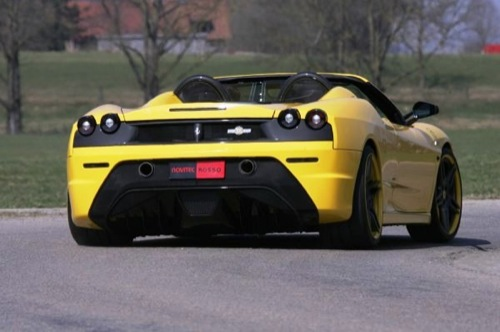 Ferrari F430 Scuderia 16M al estilo de Novitec